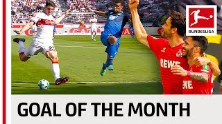 Top 10 Best Goals in May 2018 - Vote for the Goal of the Month