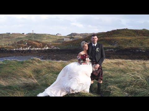 Hebridean Wedding Story - Morven and Iain