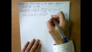 Conjugate Prior for Precision of Normal Distribution with known mean