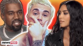 Kanye west and kim kardashian are working through some marital struggles, but it was apparently all thanks to justin bieber who urged stop avoiding ...