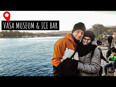VLOG 4 ✈    VASA MUSEUM, POLPETTE IKEA e ICE BAR! 5 gradi sotto zero!    Fuma c'anduma