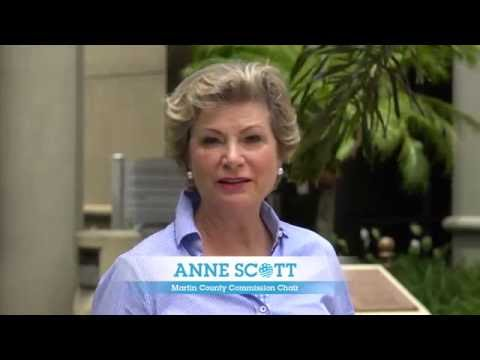 Anne Scott Takes A Dive For Clean Water