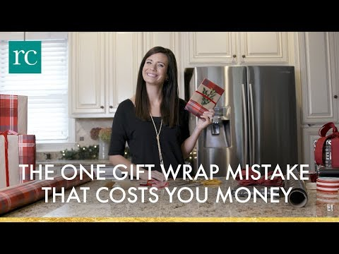 The One Gift Wrap Mistake That Costs You Money