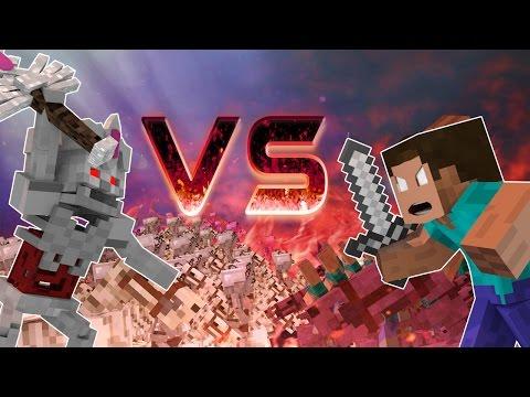 Minecraft | SUPERNATURAL MOBS VS HEROBRINE! (Castle Siege Massive Mob Battles)