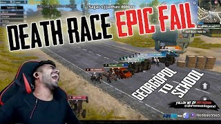 Death Race Epic Fail l PUBGM HIGHLIGHT l part 1