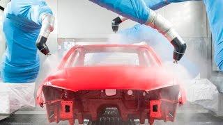Производство новых автомобилей Ауди