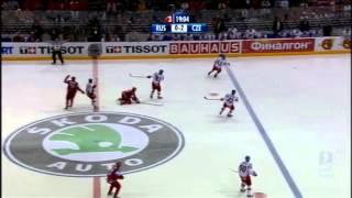 Finále Ms v hokeji 2010 Česko- Rusko (celý zápas) kvalitní obraz