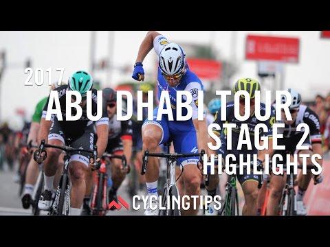 2017 Abu Dhabi Tour: Stage 2 highlights