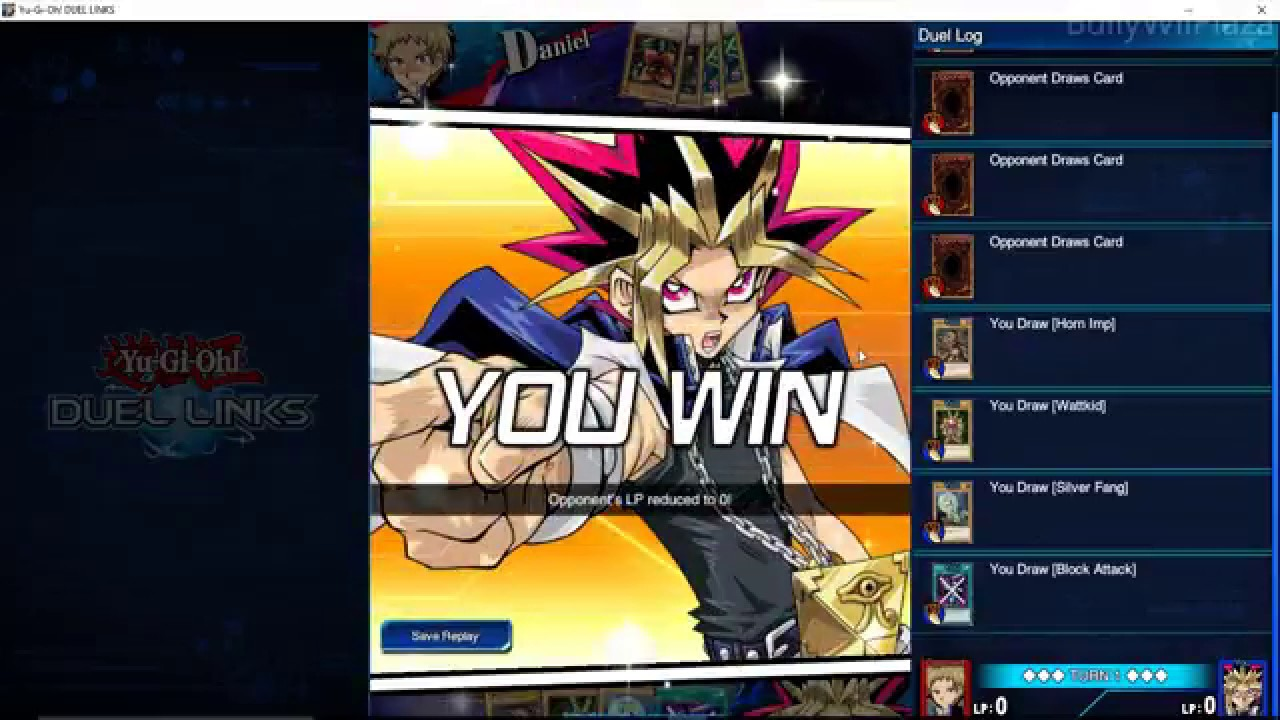 Instant win yugioh deck 2018 dodge