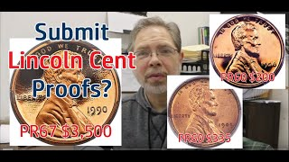 Should You Have Your Lincoln Cent Proof Graded? RARE Proof Cent Values
