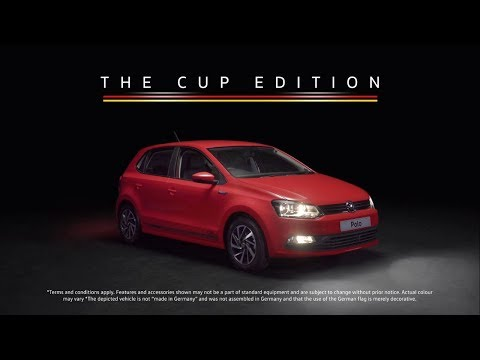 Presenting the Volkswagen Cup Edition