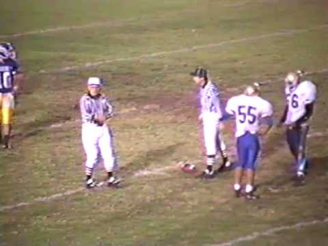 Charter Oak High School Football 1992   COHS vs Garey
