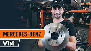 MERCEDES-BENZ A-CLASS (W168) Jarrulevyt asennus : ilmainen video
