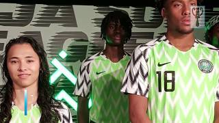 Wizkid on Super Eagles' kits
