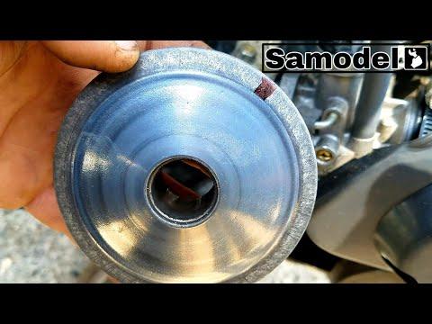 Что я обнаружил под крышкой вариатора на скутере Honda Dio
