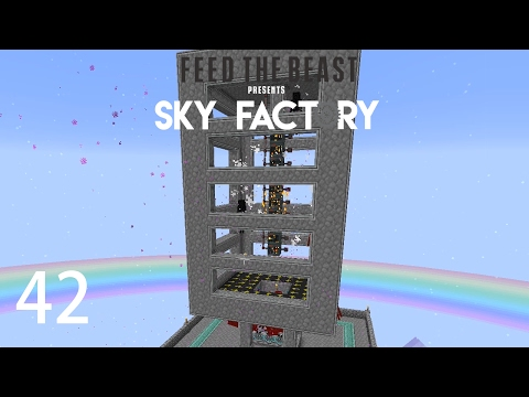 Sky Factory 3 w/ xB - EXTREME ENDERMAN FARM [E42] (Minecraft Modded Sky Block)