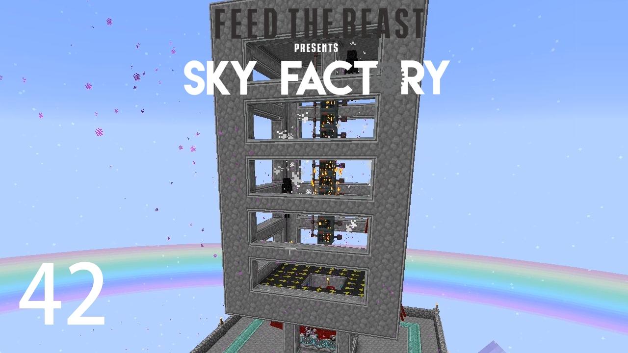 Sky Factory 3 w/ xB - EXTREME ENDERMAN FARM [E42] (Minecraft