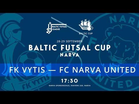 Baltic Futsal Cup. Церемония открытия + FK Vytis - FC Narva United. Прямая трансляция РУС