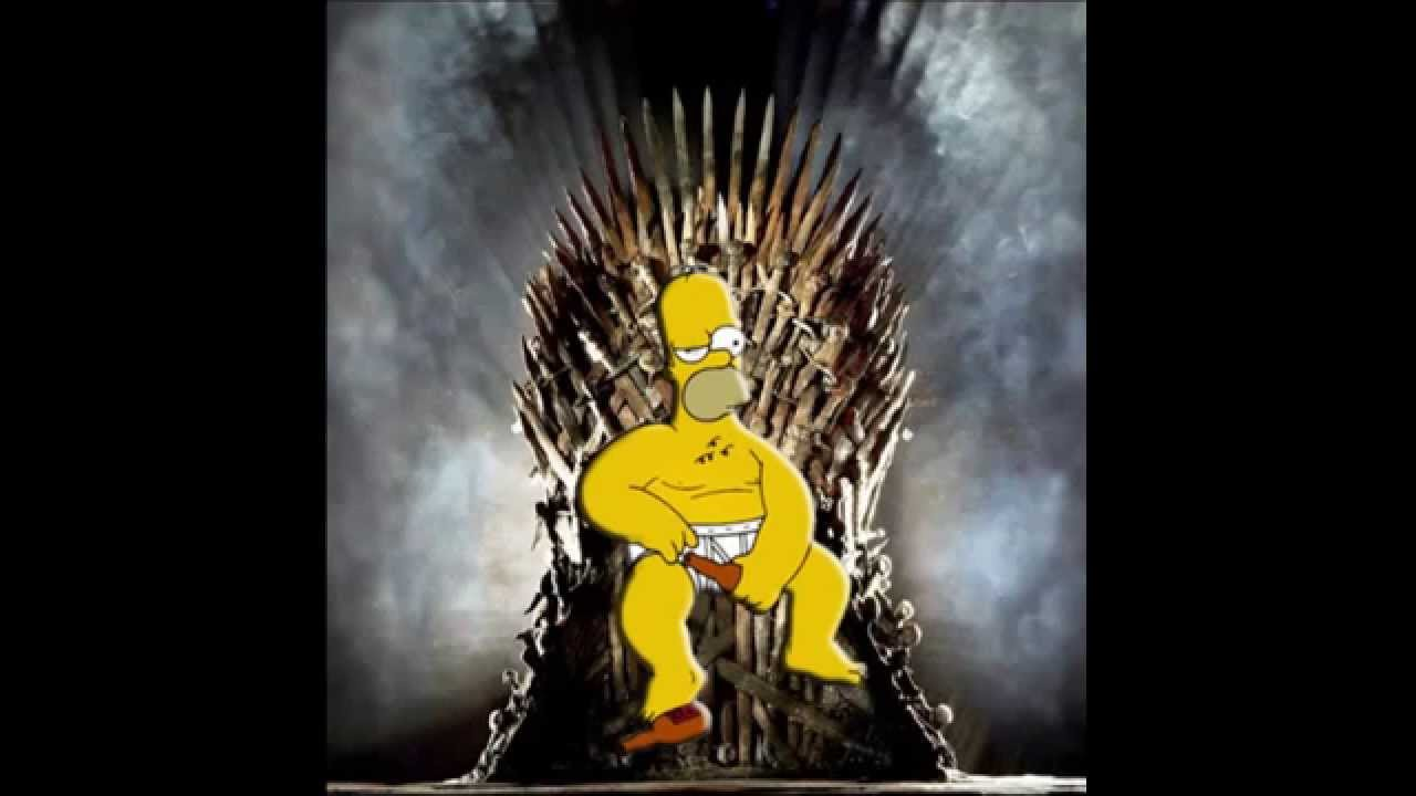 Homer Simpson Wallpaper Hd Homer Simpson Game Of Thrones Song Youtube