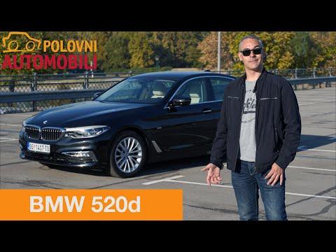 BMW 520d Luxury line [Autotest] - Da li je 2.000 kubika dovoljno? Polovni automobili
