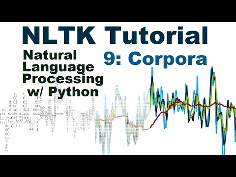 NLTK Corpora - Natural Language Processing With Python and NLTK p.9