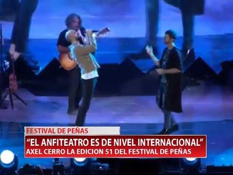 AXEL CERRO LA EDICION 51 DEL FESTIVAL DE PEÑAS