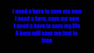 Hero - Skillet lyrics