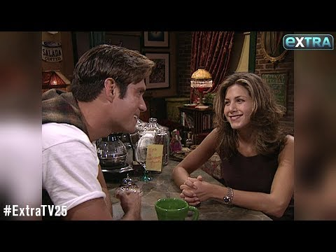 'Extra' Vault: Our First  with Jennifer Aniston Nearly 25 Years Ago