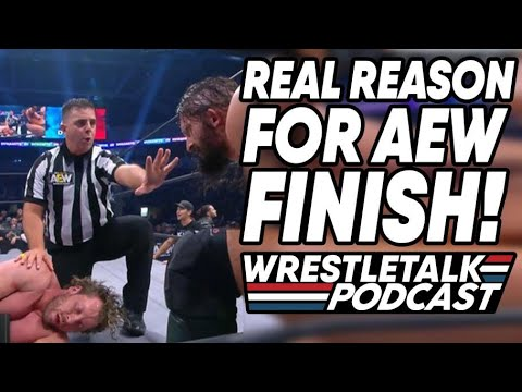 Real Reason For AEW Finish! AEW Dynamite Feb 26, 2020 | WrestleTalk Podcast