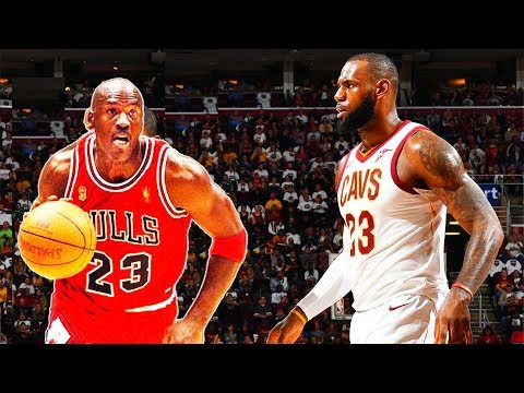 LeBron James vs Michael Jordan 1 on 1 (Parody)