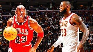 LeBron James vs Michael Jordan 1 on 1 (Parody)