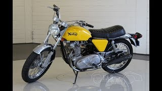 Norton Commando 750 Roadster 1972 -VIDEO- www.ERclassics.com