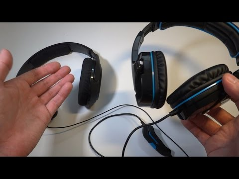 Игровые наушники с микрофоном