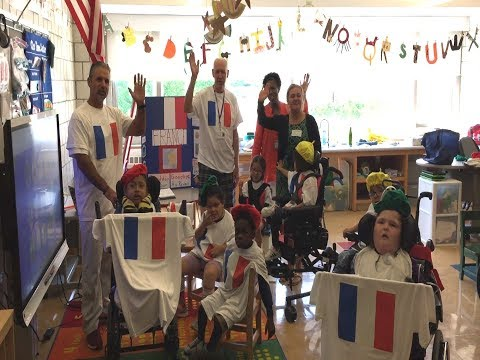"Mt. Pleasant Blythedale School Celebrates ""Culture Day"" At Blythedale Children's Hospital"