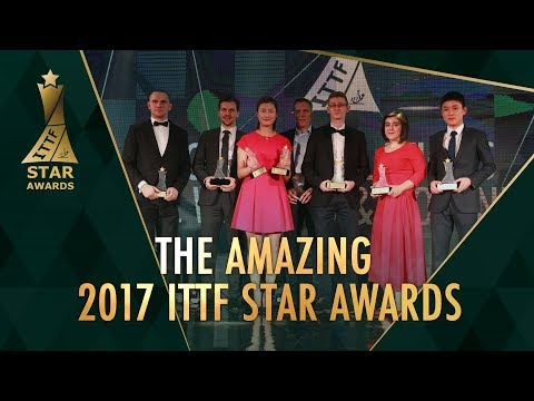 2017 ITTF Star Awards: LIVE