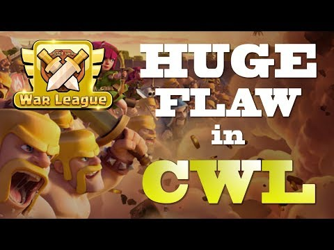 HUGE FLAW IN CLAN WAR LEAGUES!   CLASH OF CLANS CWL OCTOBER UPDATE   TIPS, TRICKS, STRATEGY, TH12