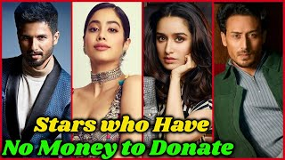 10 Bollywood Stars who Have Not Donated Money