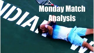 Thiem Triumphs over Federer for Indian Wells Title | Monday Match Analysis