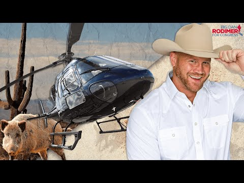 Dan Rodimer Releases Campaign Ad Featuring Helicopter Hog...