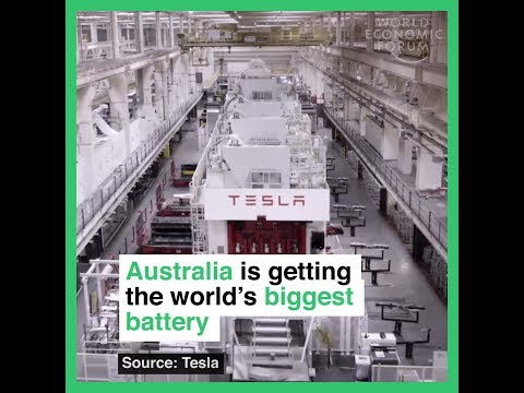 Australia is getting the world´s biggest battery