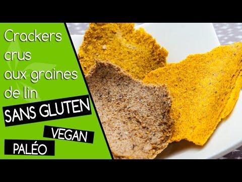 crackers-crus-vegan-et-sans-gluten-aux-graines-de-lin-#healthy