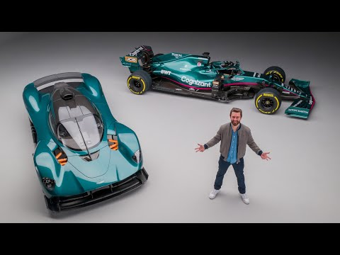 NEW Aston Martin F1 Car Compared To Valkyrie For the FIRST Time!