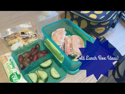 cold-lunch-box-ideas!-#1