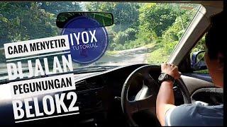 CarVlog Cara Menyetir di Tanjakan Berbelok Pegunungan Menggunakan Teknik Steering dan Feeling