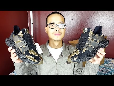quality design 472d0 0d4ca Undefeated x Adidas Originals Prophere Tiger Camo Review! + WHY IM QUITING  YOUTUBE