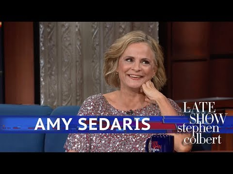 Amy Sedaris And Stephen Were Young And Broke