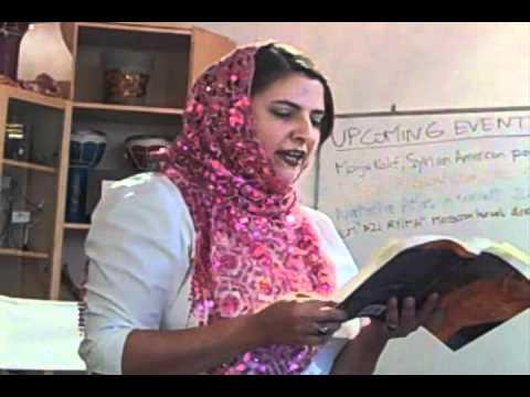 Mohja Kahf: The Girl in the Tangerine Scarf, Part II - YouTube