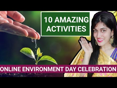 Environment day activities ideas for school, virtual environment day activities for kids.