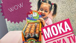 ЗБУЛАСЯ МРІЯ! ШОК!! Величезна КОРОБКА КІНДЕР СЮРПРИЗІВ! Огляд ІГРАШОК/ Ам ням. Box kinder/toy review