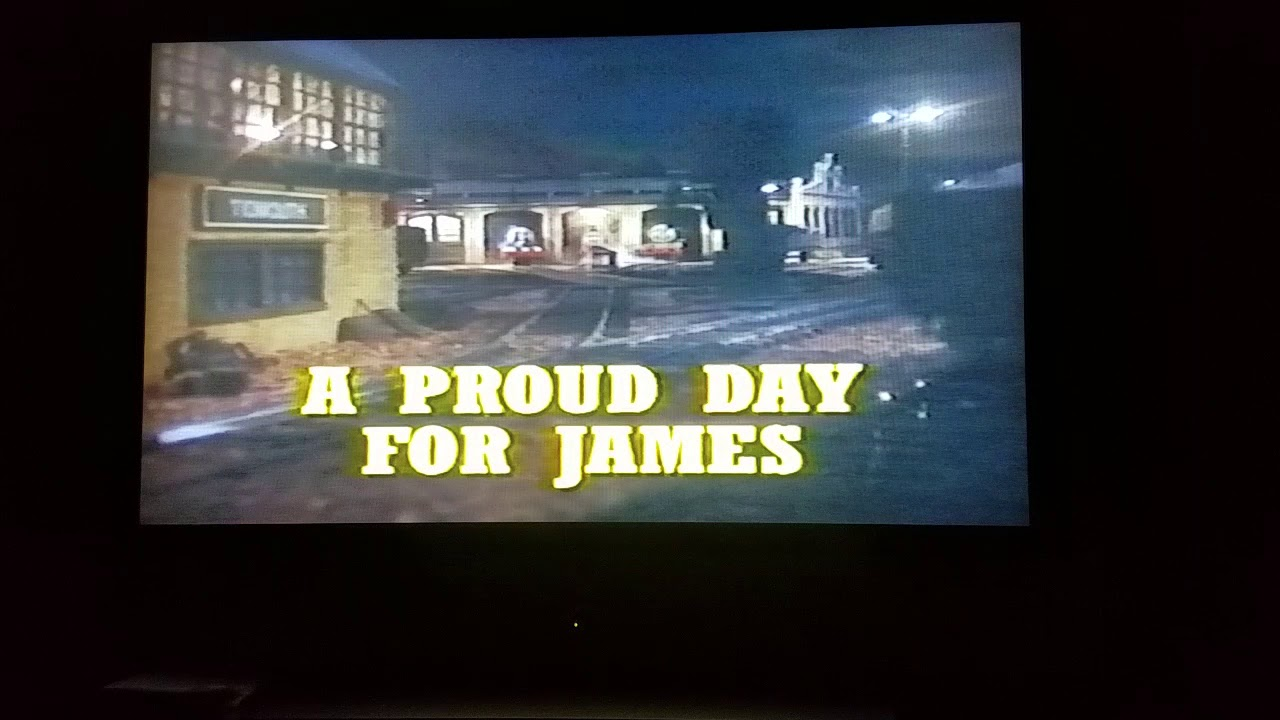 Opening To Thomas  U0026 Friends Best Of James 2002 Vhs